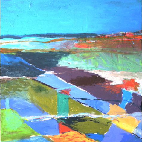 Felder am Meer